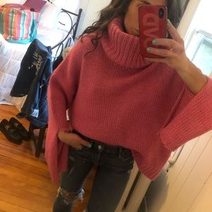 Winona Keyhole Sweater in Pink One Teaspoon size s